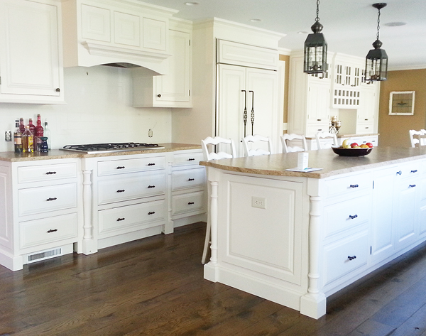 Classic Country Kitchen classic country white kitchen – maria matluck – construction